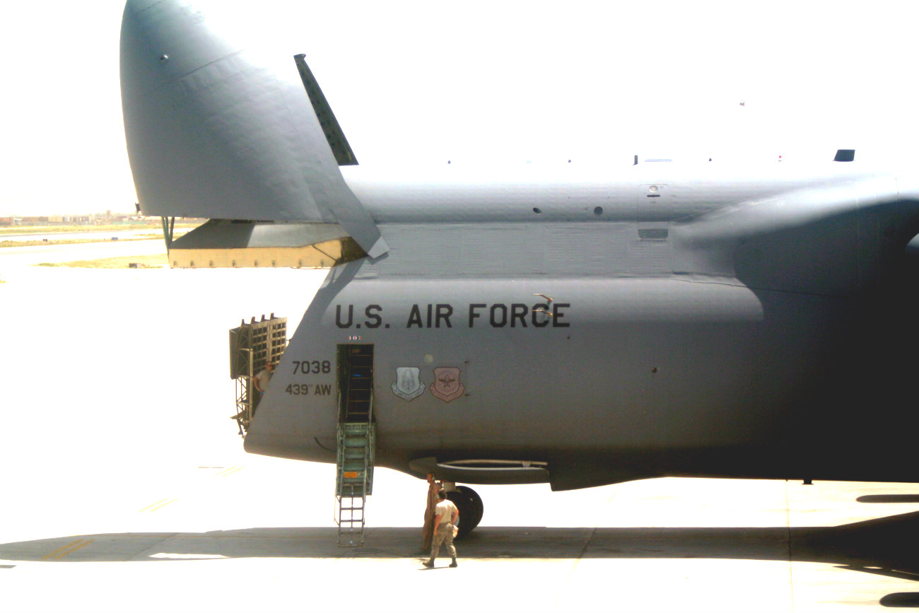 C-5 Galaxy front open