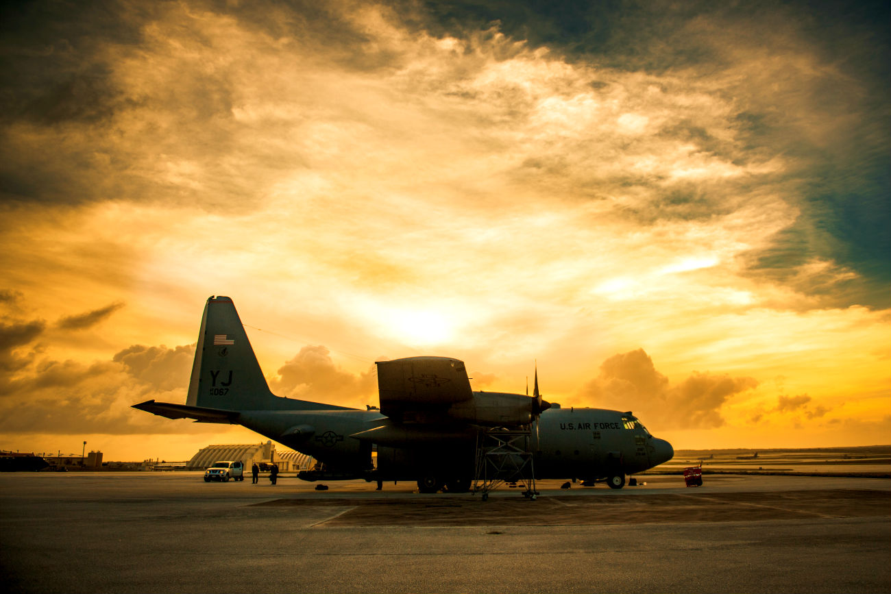 C-130 Sunset