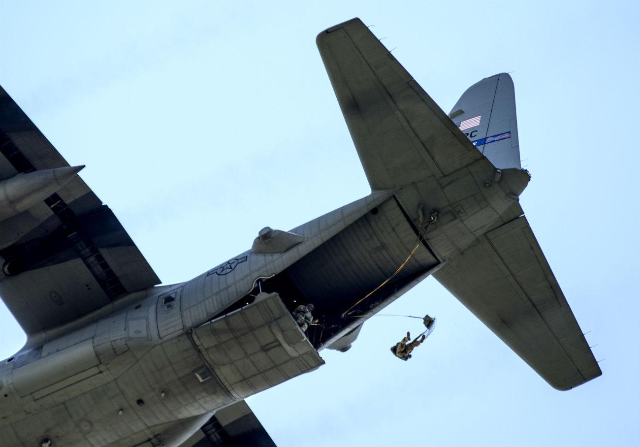 C-130 Hercules Parachute Jump