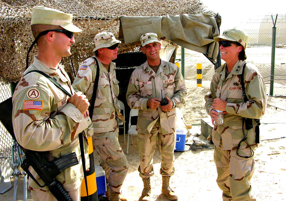 Desert Camouflage Uniform Kuwait
