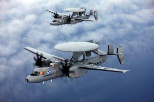 E-2 Hawkeye in Flight