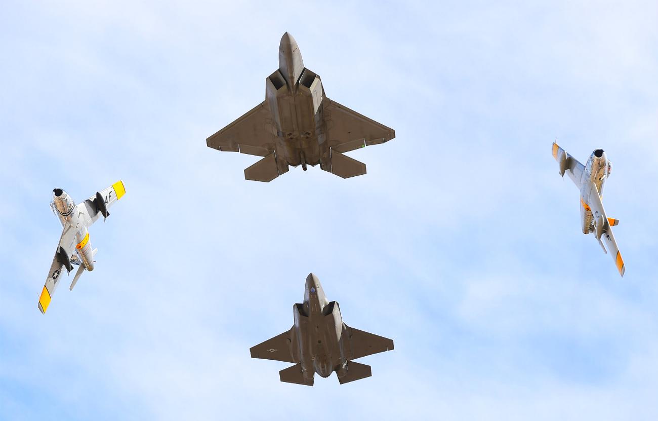 F-22 Raptor Airshow