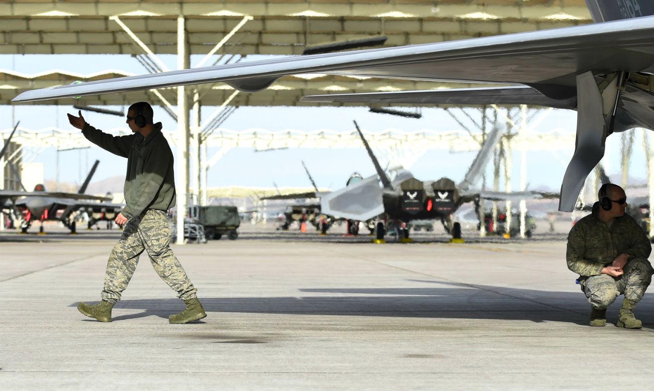 F-22 Raptor Post Flight checks F-22 Raptor Images