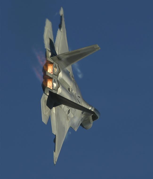 F-22 Raptor Right Bank