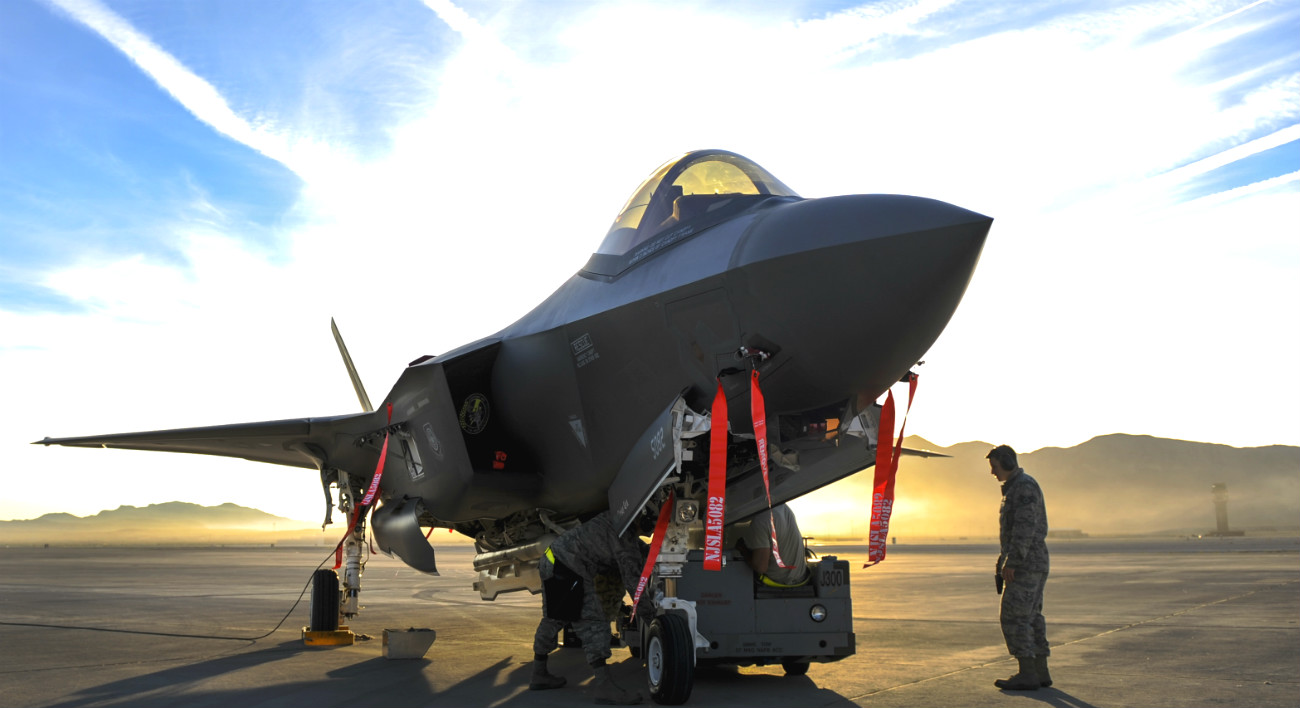 F-35 Aircraft Maintainance