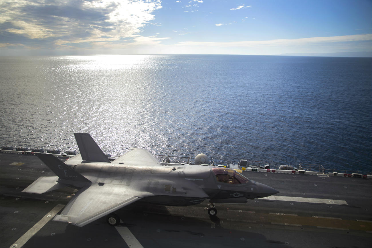 F-35 Images Lightning Aircraft Prepares for takeoff