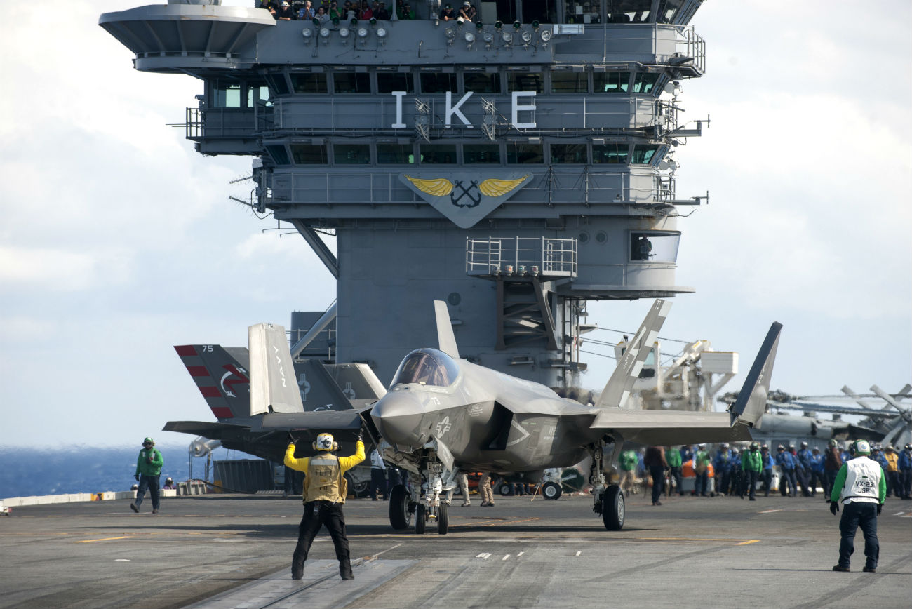 F-35 Images Folded Up