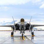 F-35 Lightning Parked