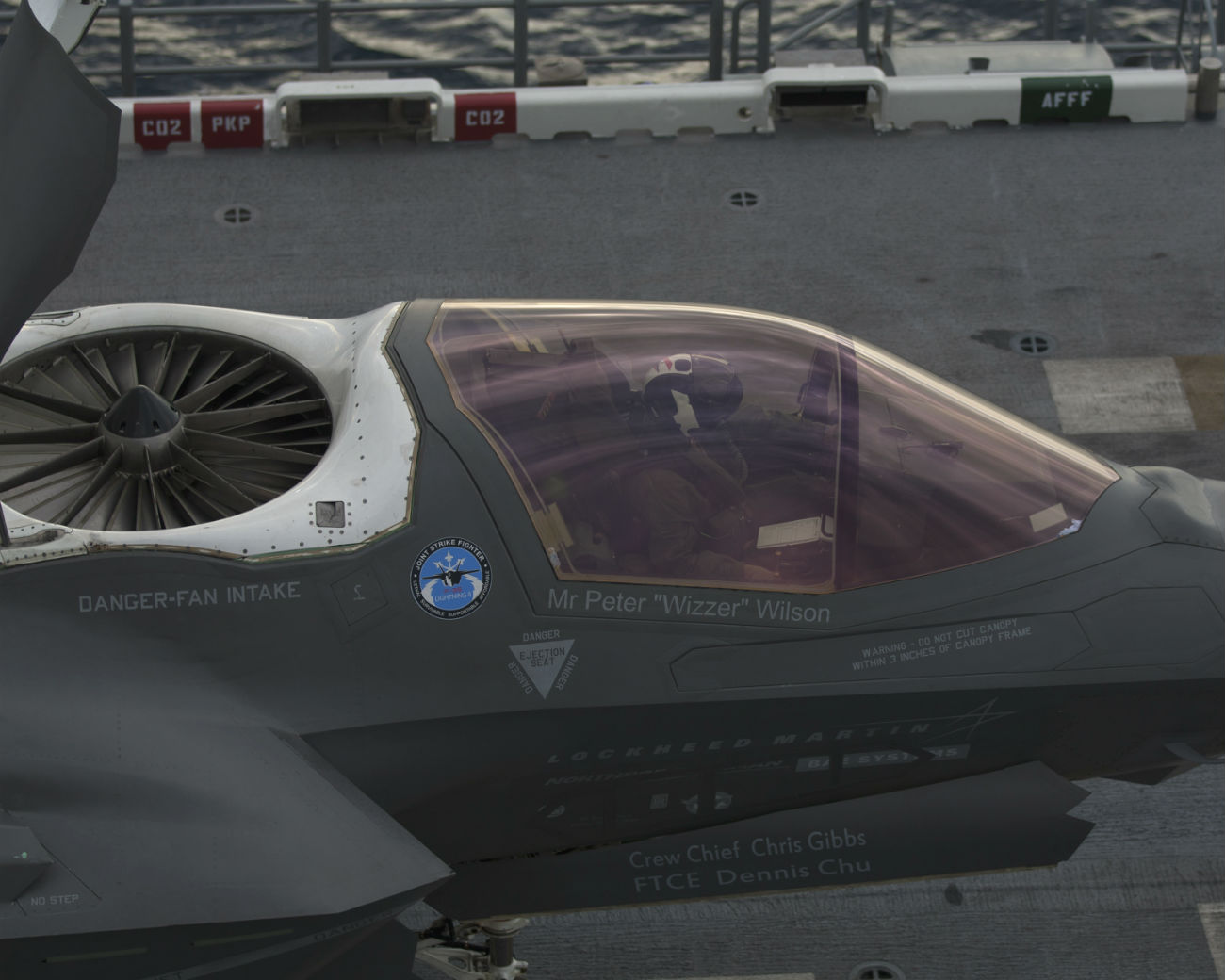 F-35 Open Fan intake