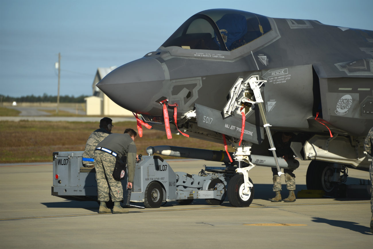 F-35 Weapons Loading