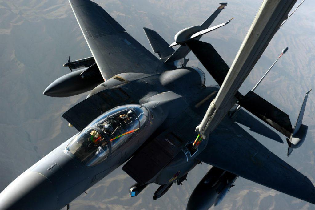 F-15 Strike Eagle Refuel