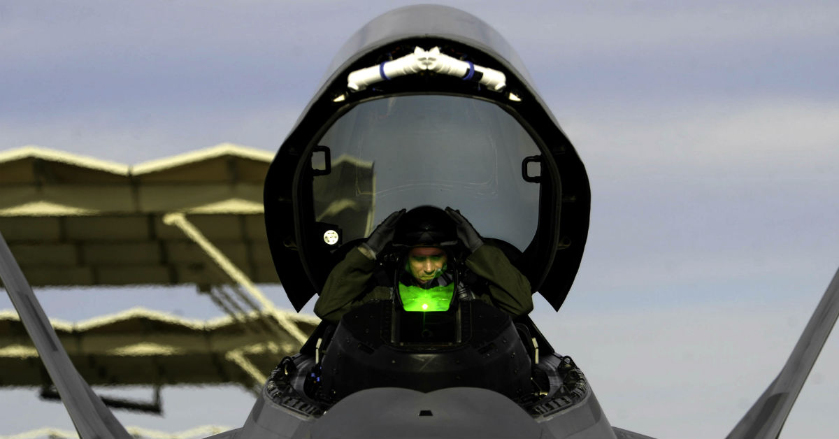 F-22 Cockpit | Military Machine