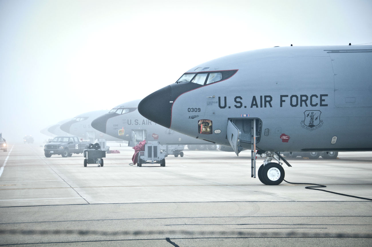 KC-130 Parked lineup