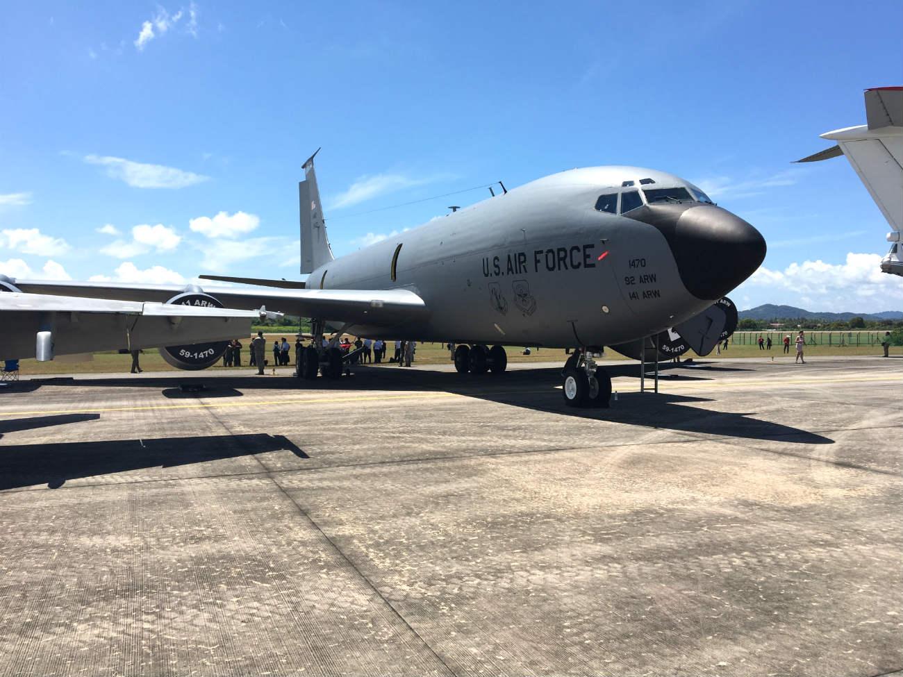 KC-130 Parked sunny
