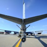 KC-135 Boom and tail