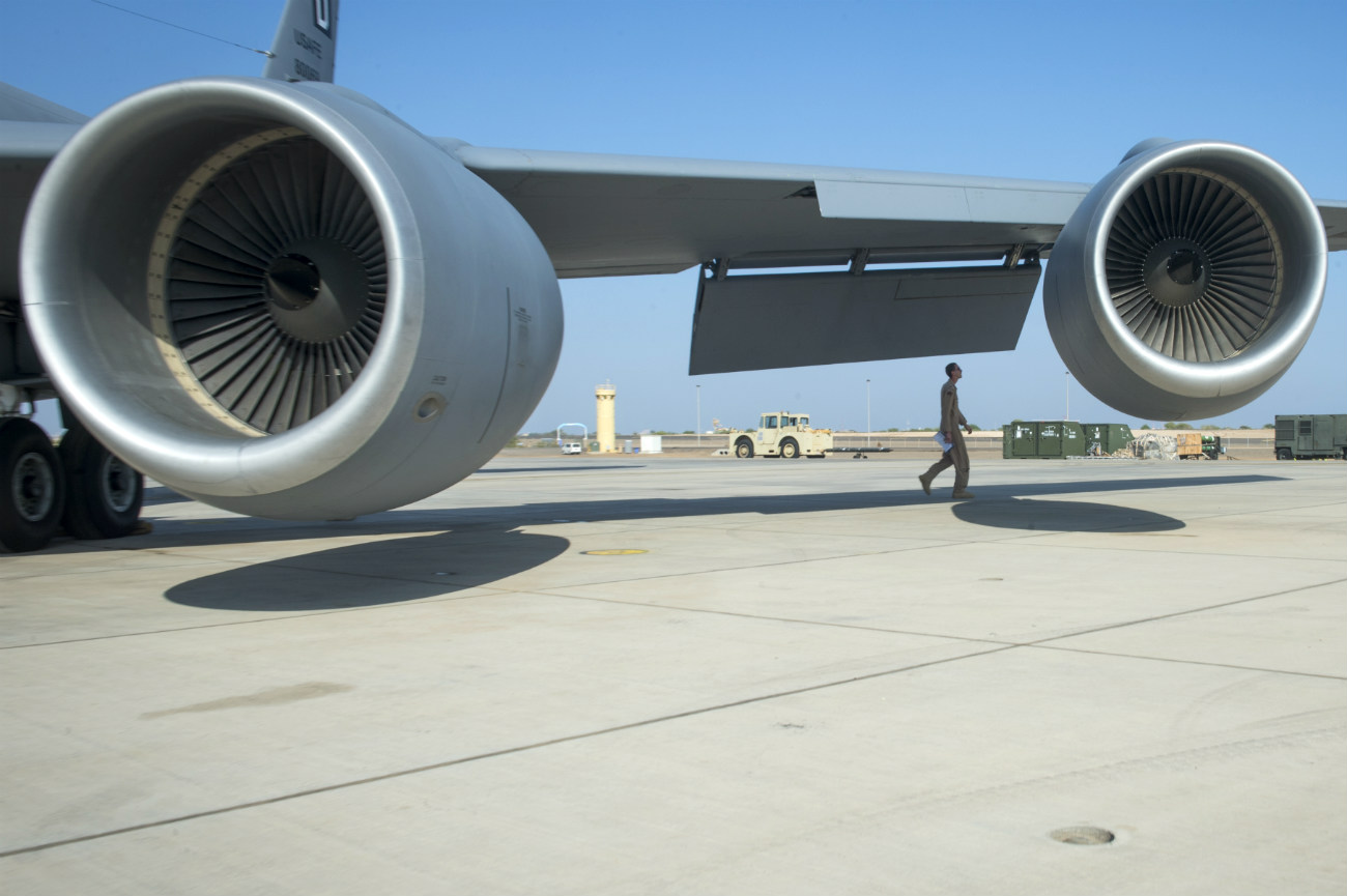 KC-135 Engines