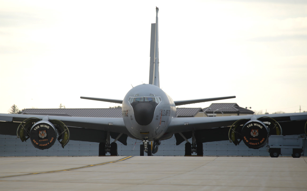 KC-135 Preflight checks