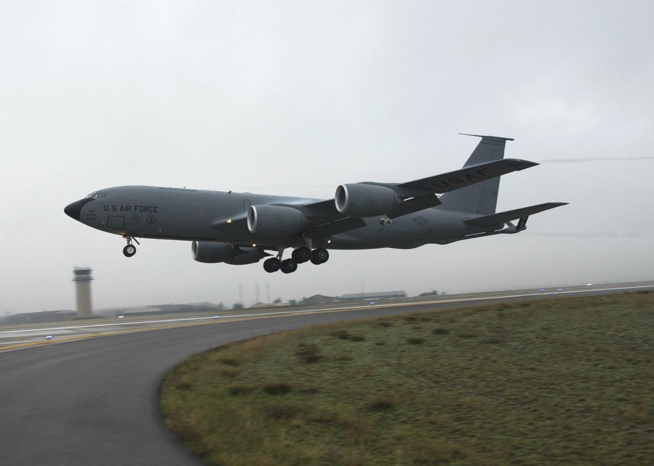 KC-135 Takeoff