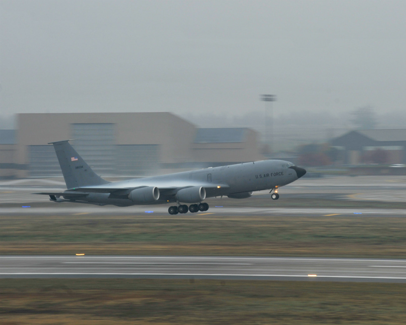 KC-135 Vapor takeoff