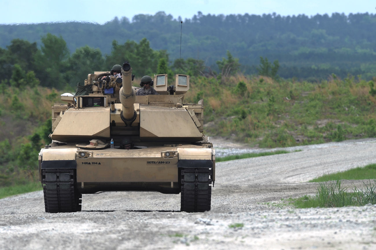 M1 Abrams Tank Images front