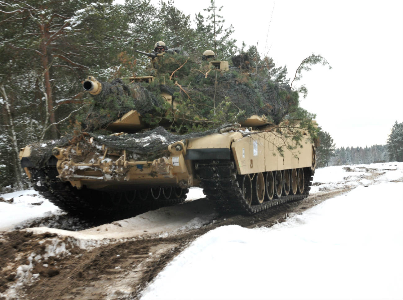 M1 Abrams tank camo