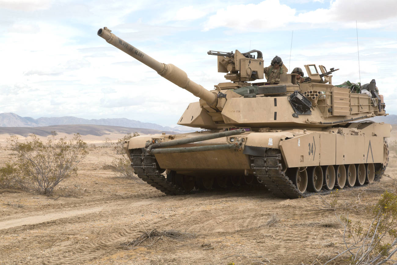 M1 Tank Abrams Images