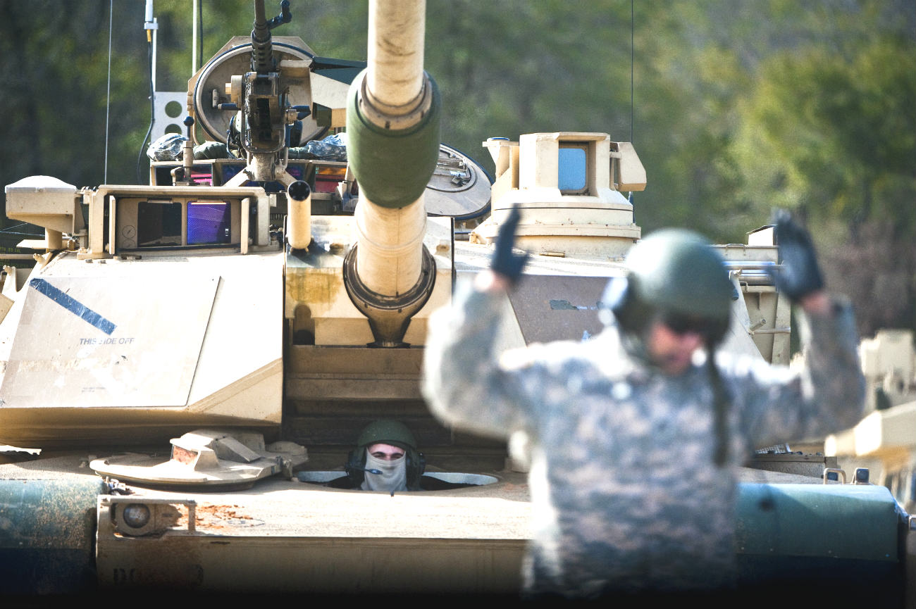 M1 Tank driver