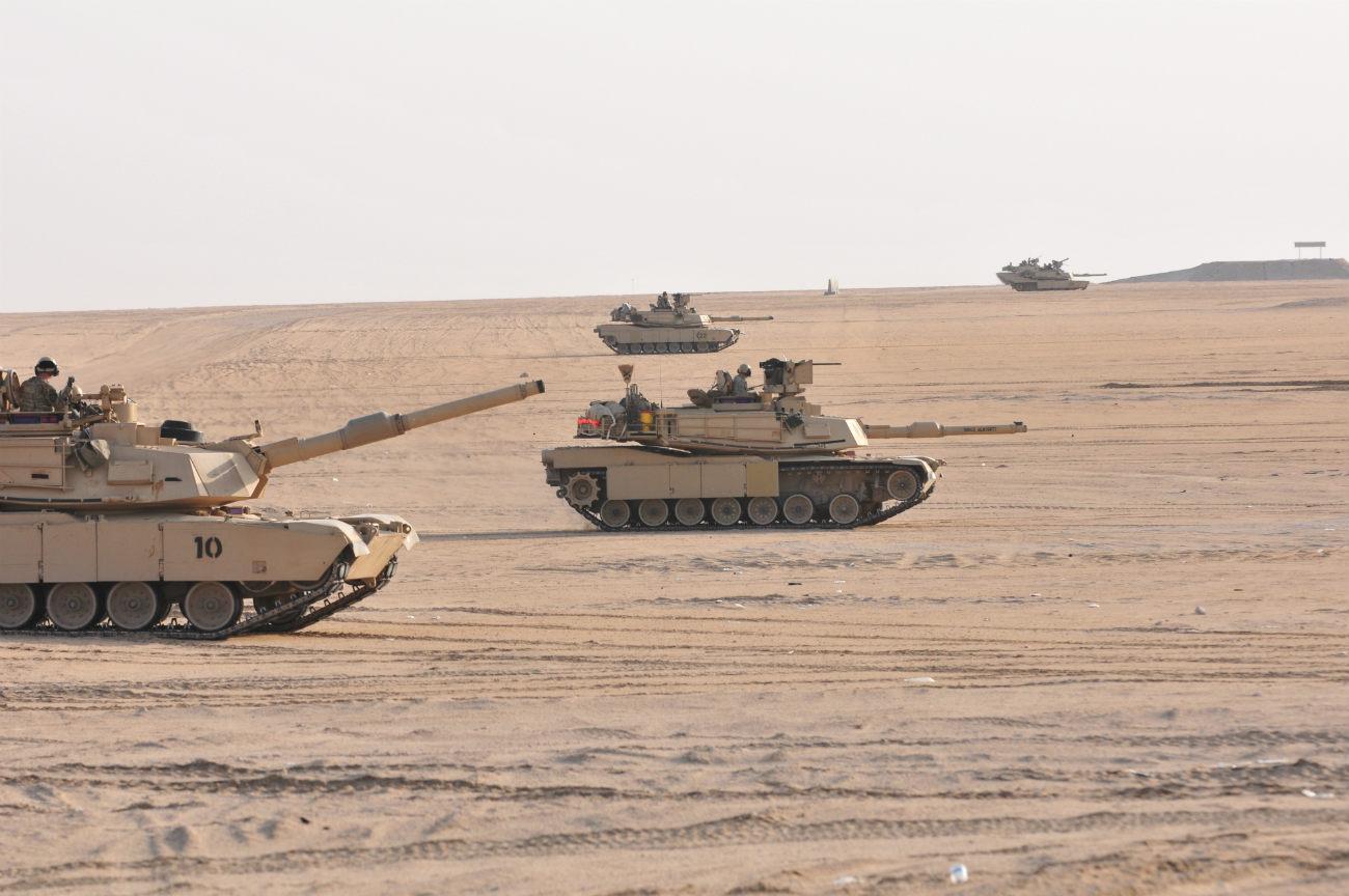 M1 Tanks Abrams