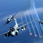 EA-6B Prowlers in Flight