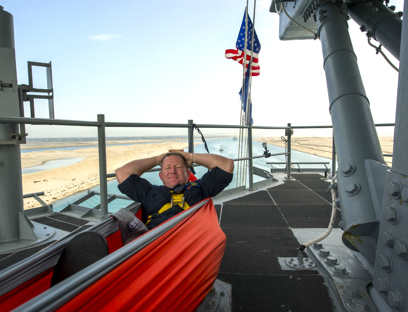 Seamen aircraft carrier images hammock