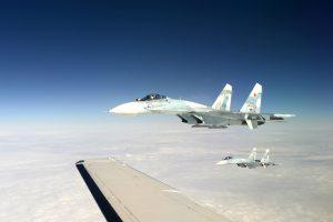 Sukhoi Su-27 - Intercept