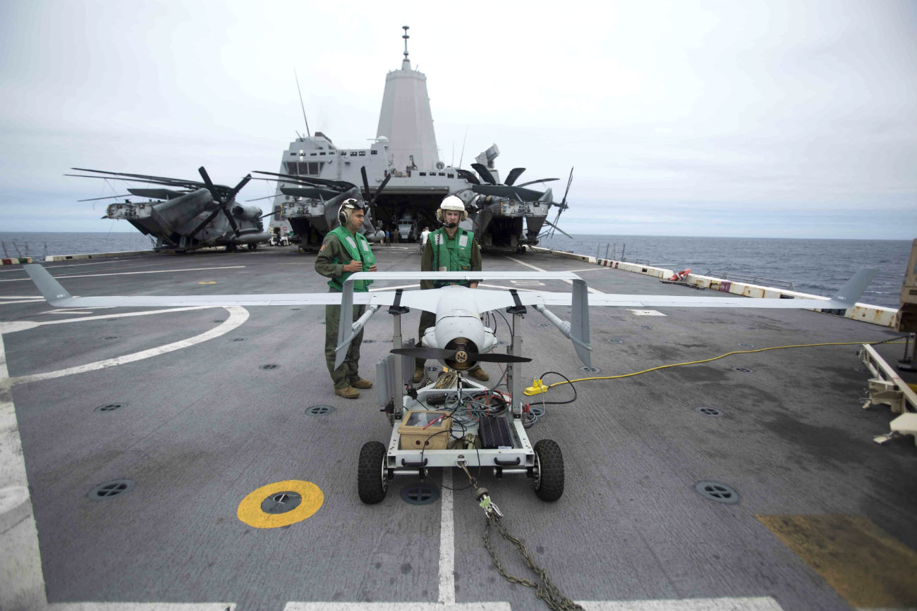 UAV RQ-21
