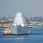 USS Zumwalt Arrival