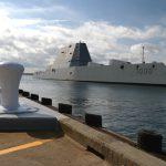 USS Zumwalt Docking