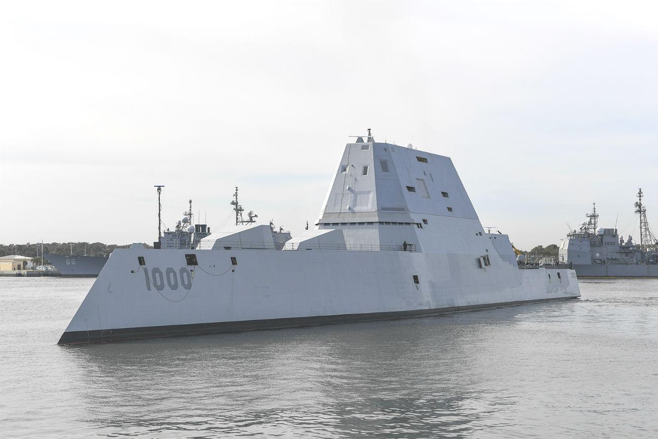USS Zumwalt Jacksonville