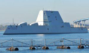 USS Zumwalt San Diego Bay