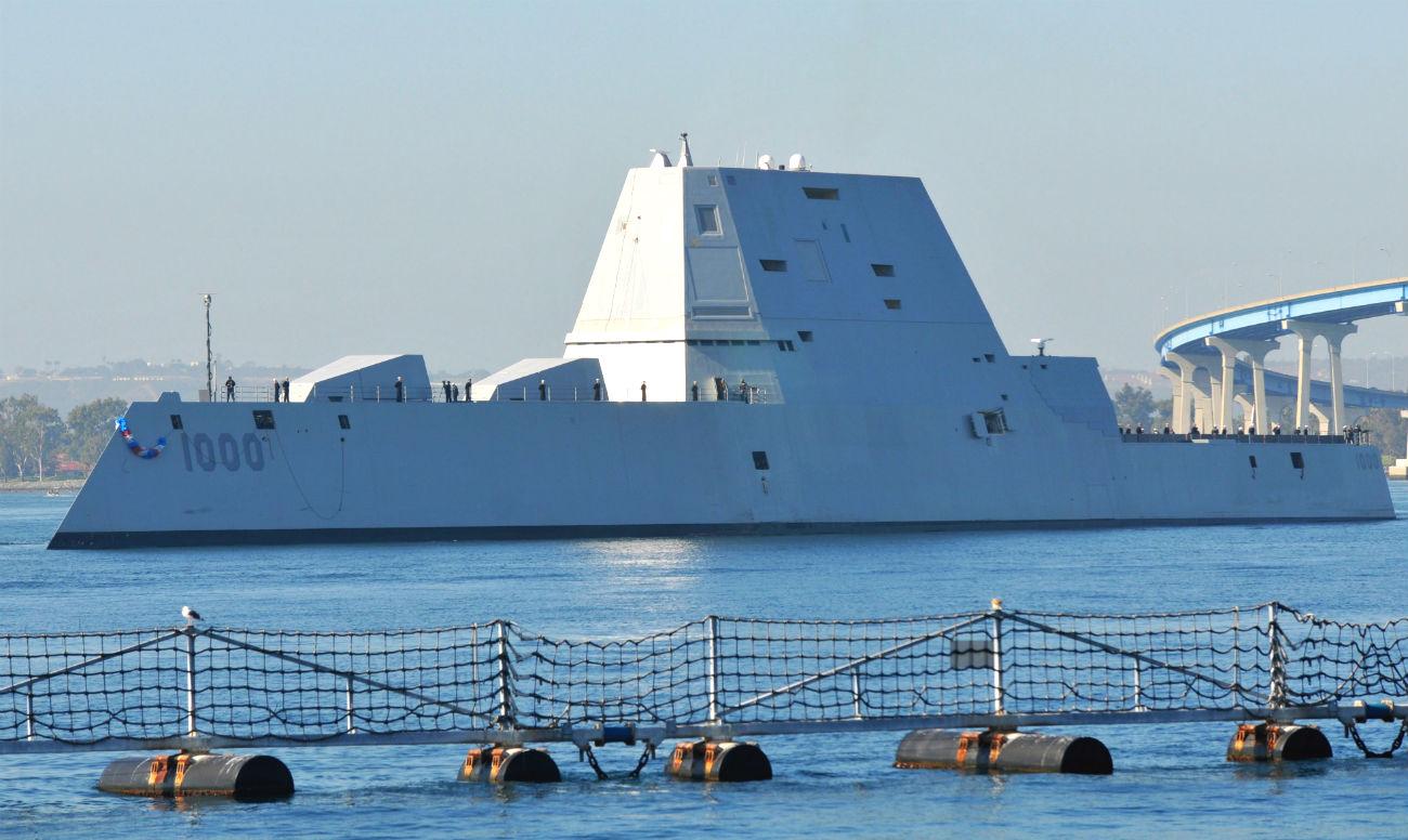 USS Zumwalt San Diego Bay USS Zumwalt images