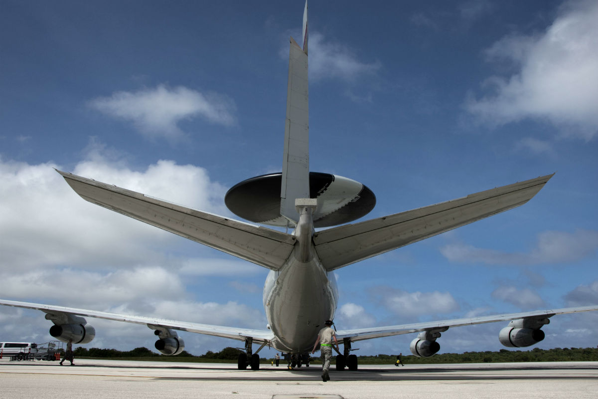The Boeing 767 Awacs Airborne Warning And Control System