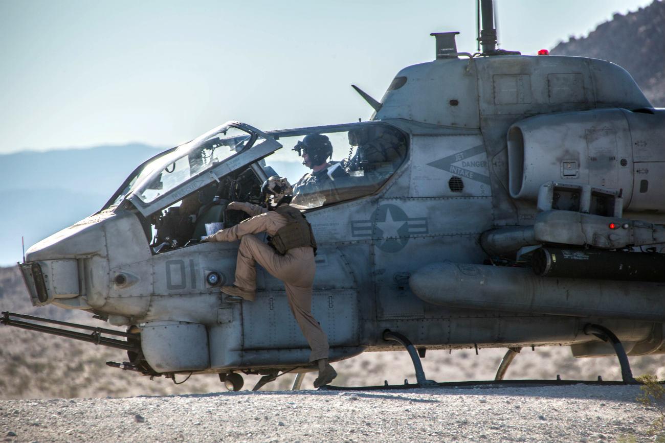 AH-1 Cobra Pilots