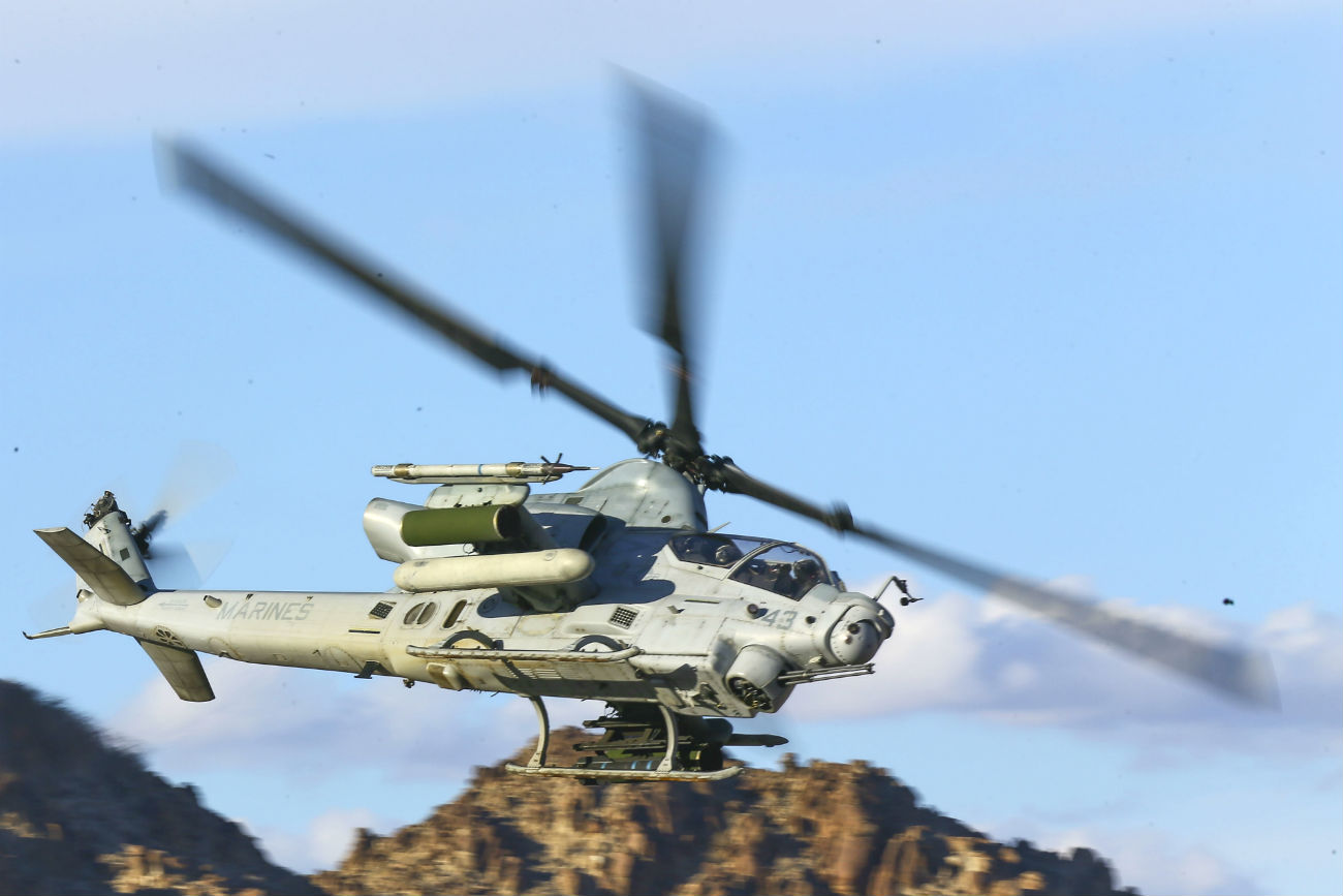 AH-1 Viper helicopter