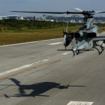 AH-1Z Vipers Fly Low
