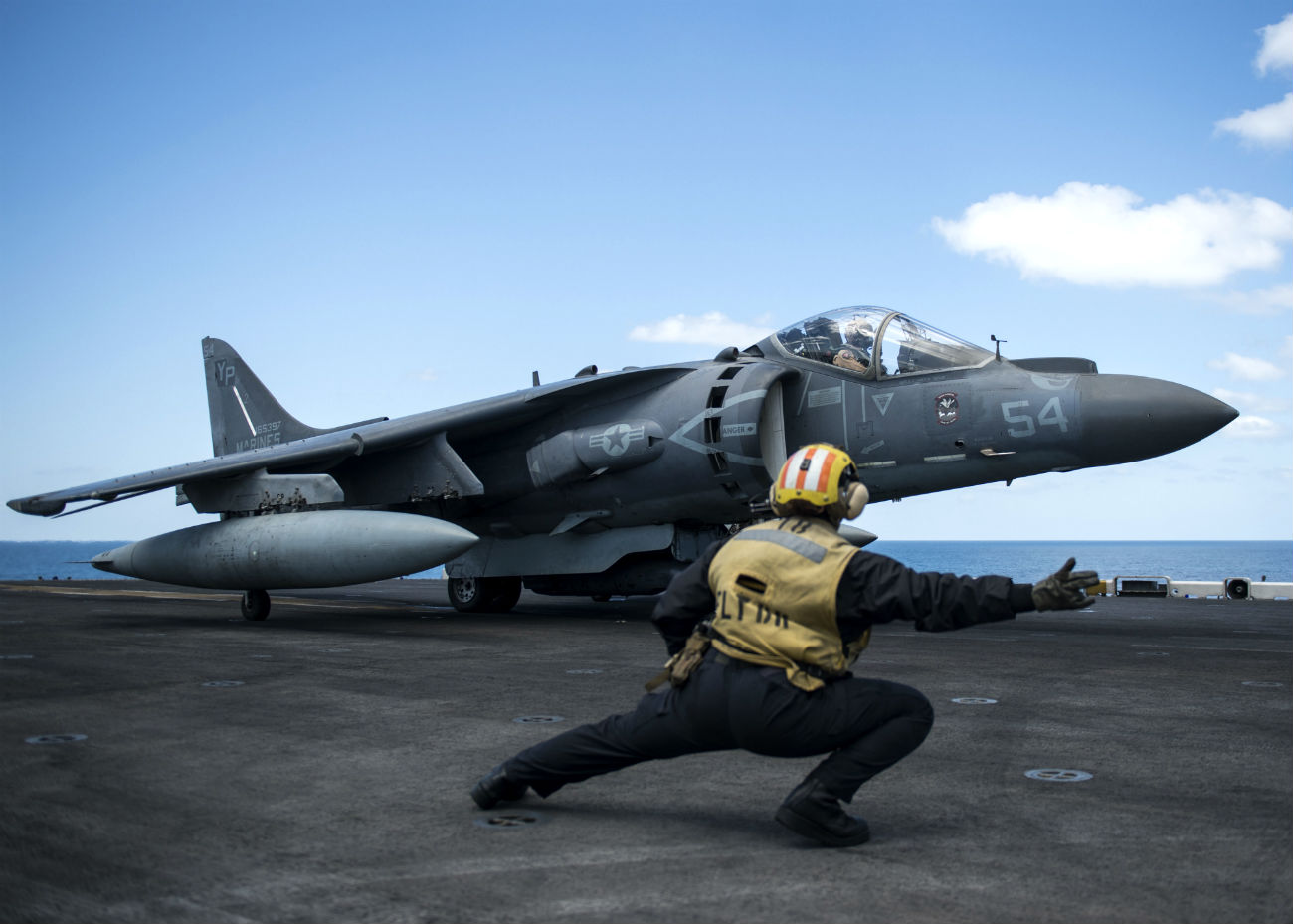 AV-8B Harrier Images directed for take off