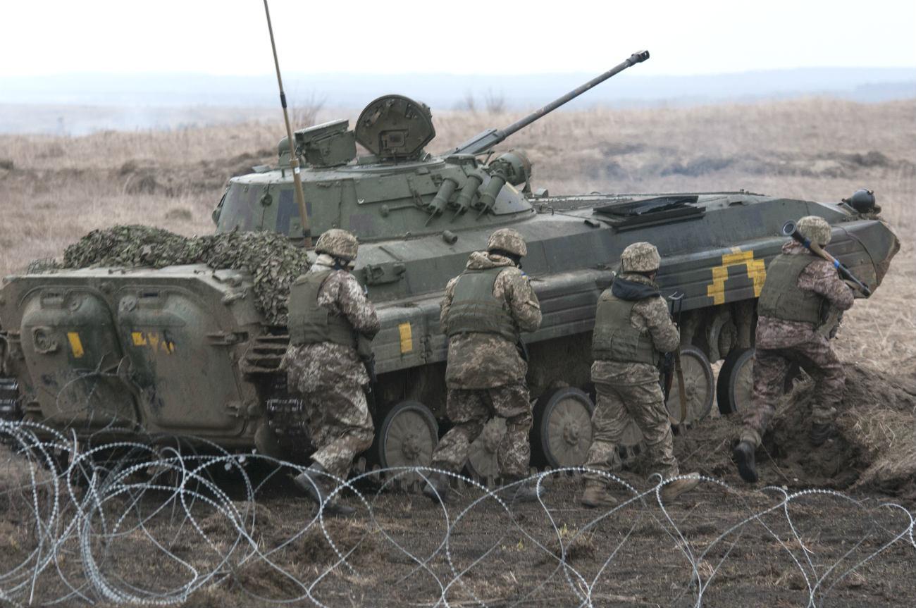 Armed Forces Ukraine tank