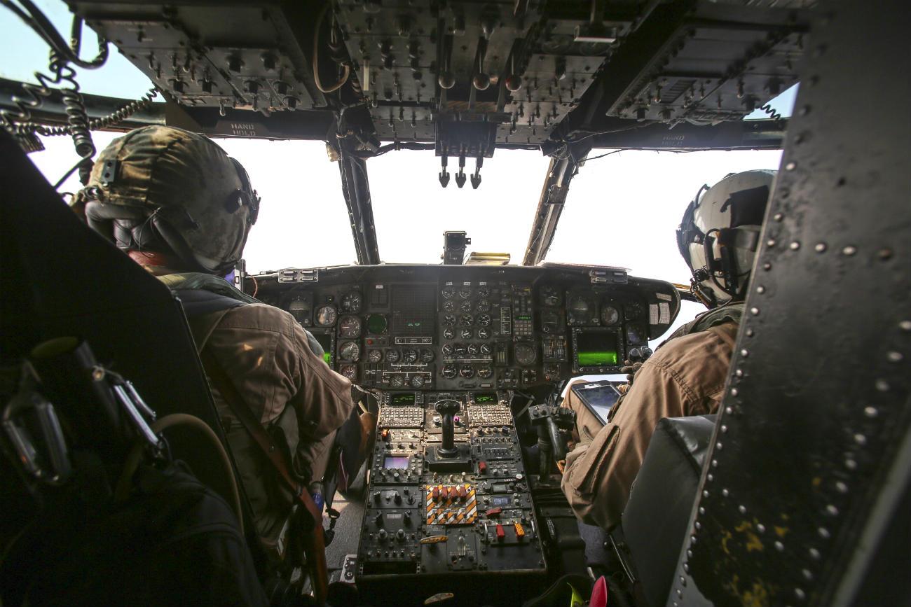 CH-53 Images of Cockpit