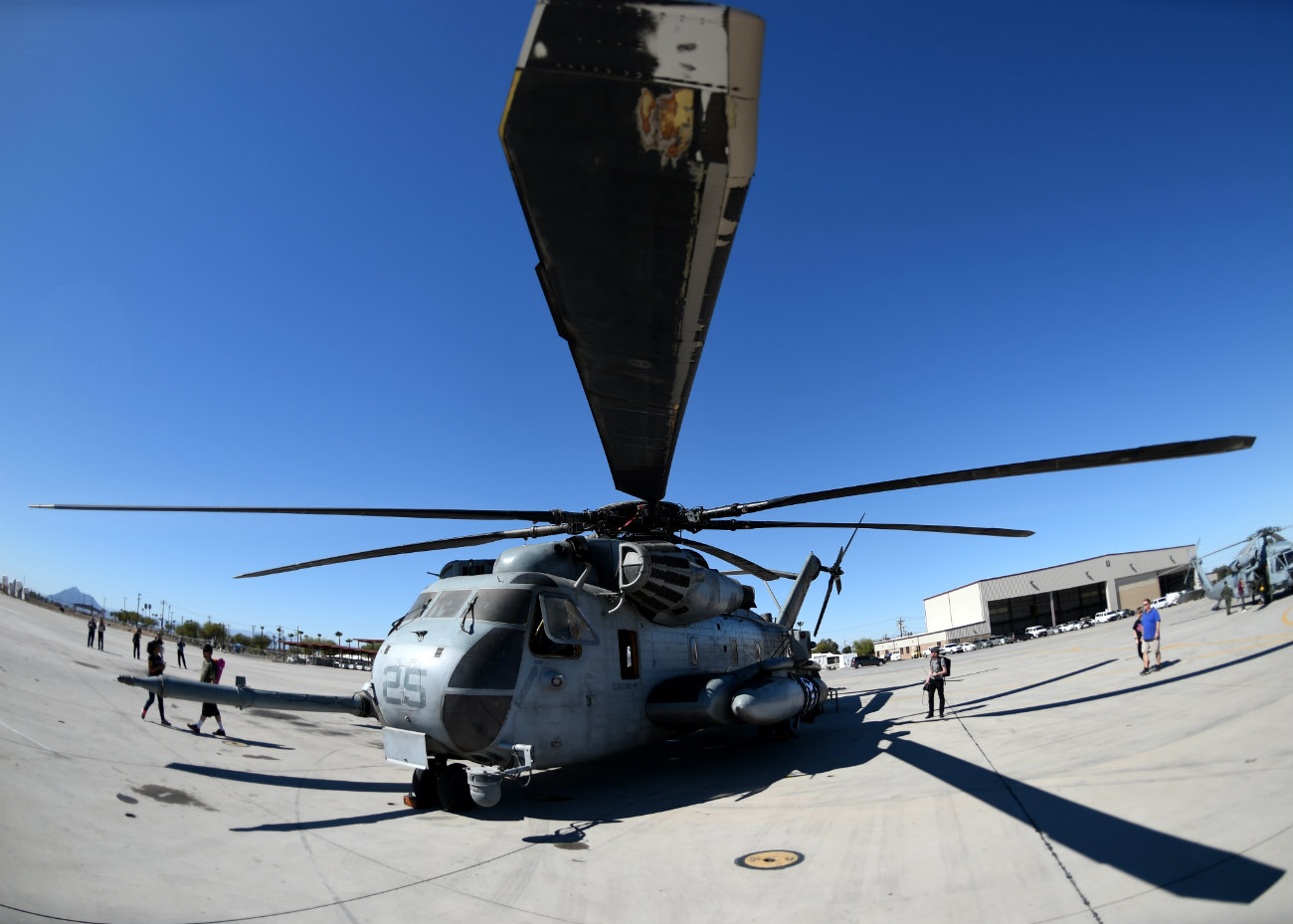 CH-53 Helicopter propeller