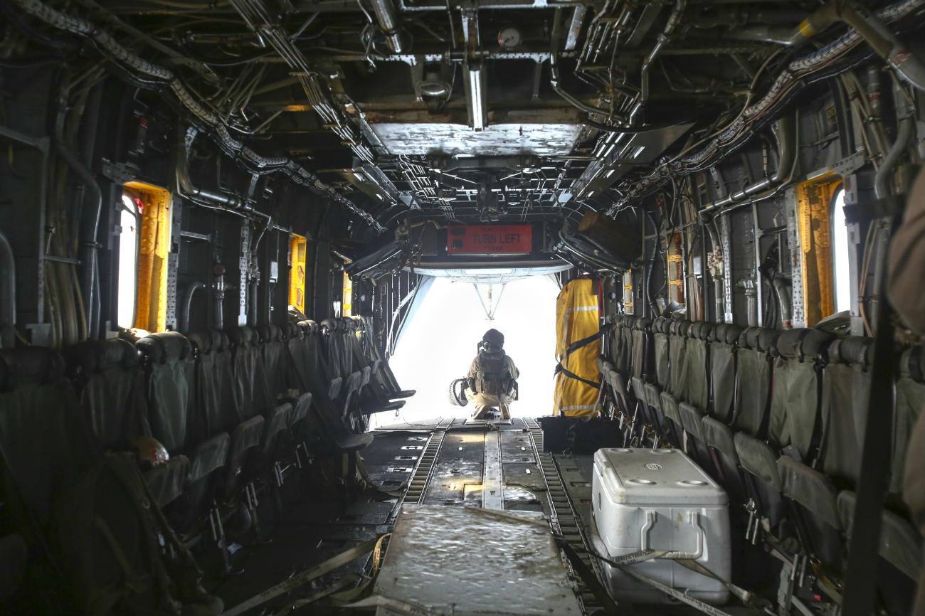 CH-53 Sea Stallion Cargo