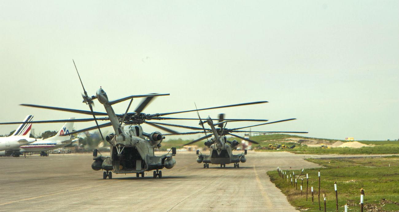 CH-53 Sea Stallion tails