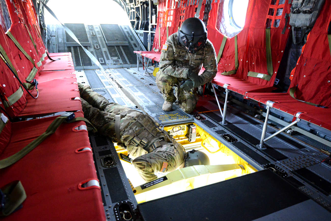 CH47 Chinook hook