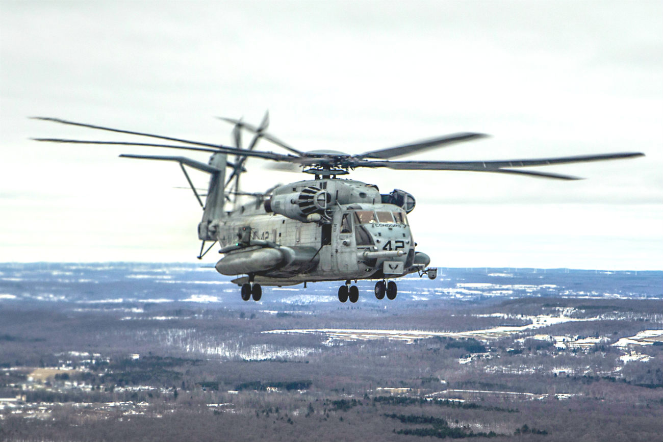Remarkable Images Of The Ch 53 Stallion Helicopter