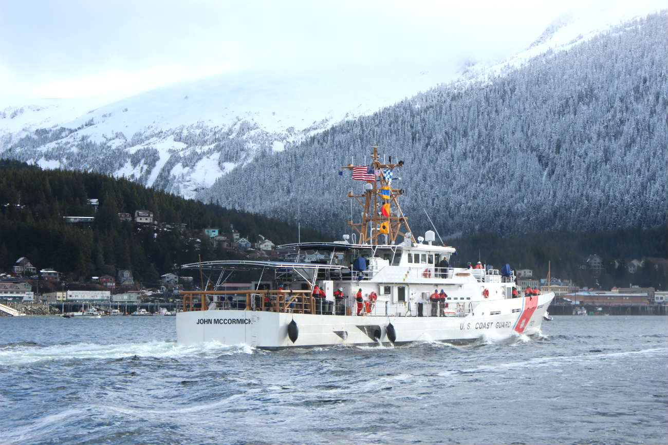 Coast Guard Cutter boat